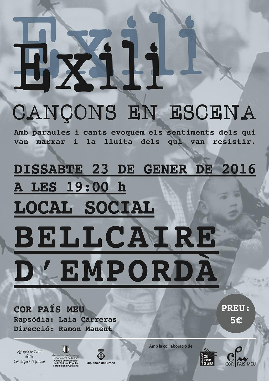 Cartell Exili CERVIA - 09 2015