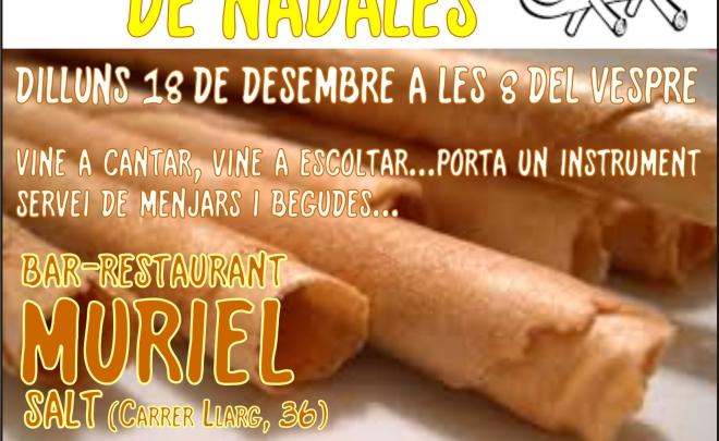 Nadales al bar Muriel de Salt – 18.12.2017