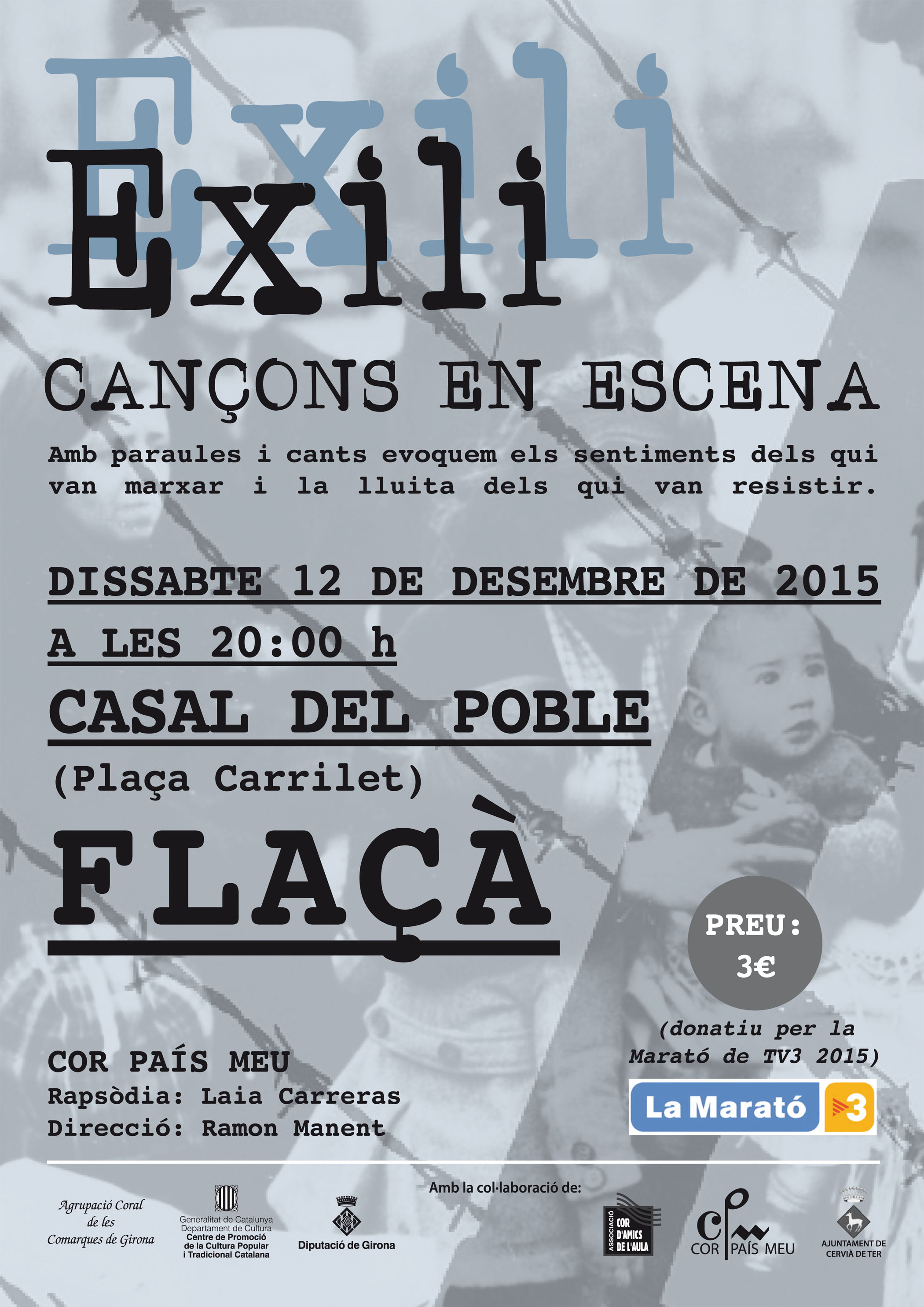 Cartell Exili FLAC¸A - 12 2015 copia